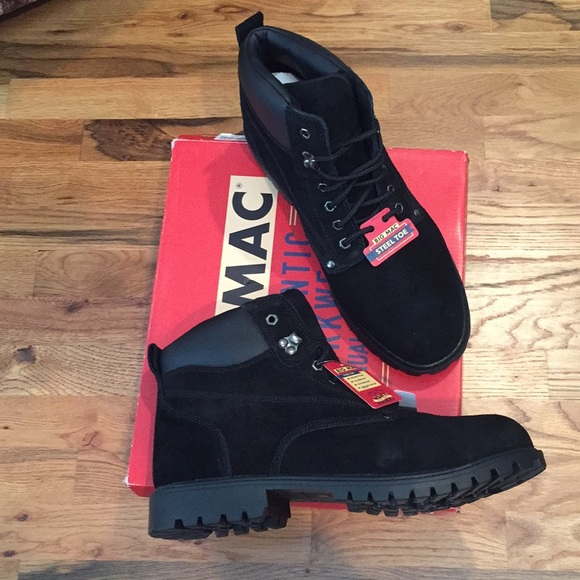 Reserved Big Mac Size 3 Steel Toe Boots